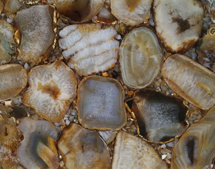 Brown-yellow-agate