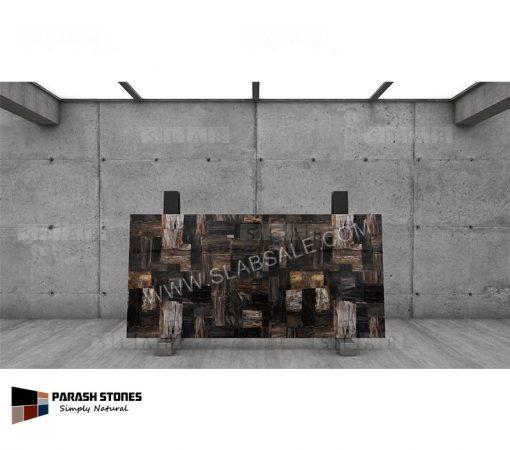 black-petrified-wood-stone-retro-8X4